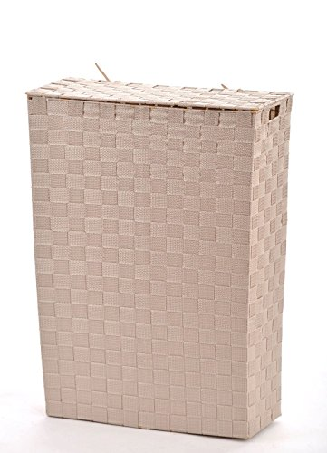 animal-design NISCHEN-WÄSCHEKORB Wäschekorb Stoff geflochten Wäschesammler Korb Wäschesortierer, Größe:Größe 1