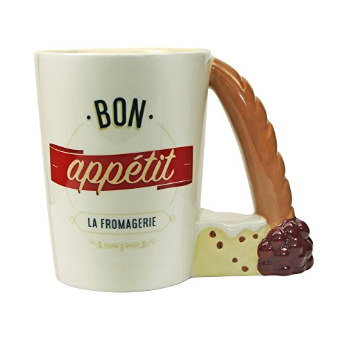 GUIDEB Franse dessert koffie beker handvat mok kantoor keramische beker thuis keuken decoratie