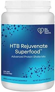 Big Bold Health HTB Rejuvenate™ Superfood Advanced Protein Shake Mix, French Vanilla Flavor, Superfood Protein Powder, Pla...