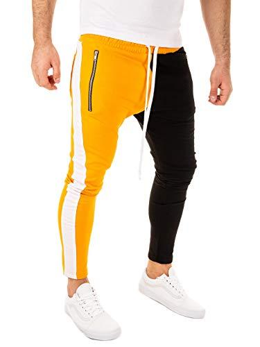 Pantalones amarillos de chandal