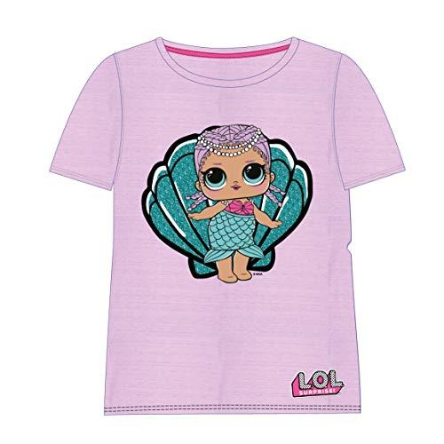 Cerdá Camiseta Manga Corta LOL, Rosa (Rosa C07), 5 años para Niñas
