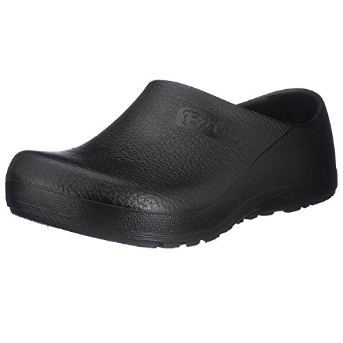 Birki's Super Black Clog,Black,39 M EU (8 M US Women/6 M US Men)