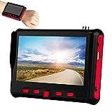 4.3Inch Tester per Monitor CCTV Adatto per 1080P 3.0Mp 4.0Mp 5.0Mp 8.0Mp Megapixel AHD TVI CVI Tester per Monitor Video Analogico ad Alta Definizione Coassiale