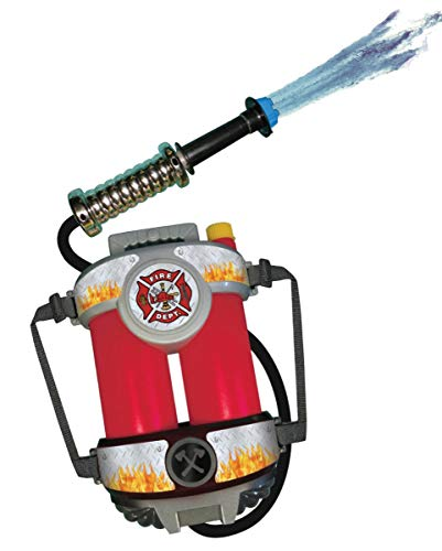 Horror-Shop Fire Brigade Water Tank Backpack With Hose
