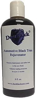 JJI Technologies DuraBlack Automotive Black Trim Rejuvenator - 12 Month No Color Fading - 8oz Bottle