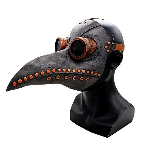 Cosplay Maske Pest Doktor Vogel Lange Nase Maske Punk Halloween Requisiten Rollenspiel Zubehör