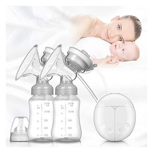 YYKK Doppel Elektrische Milchpumpe, Baby Professional USB Laden Portatil Brustpumpe mit Touchscreen Sensitive, Massage und Funktion saugen