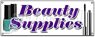 Beauty Supplies Banner Sign Professional Hair Care Wholesale Public