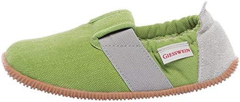 Giesswein Söll-Slim Fit, Zapatillas de Estar por casa, Verde (Gras 467), 34 EU