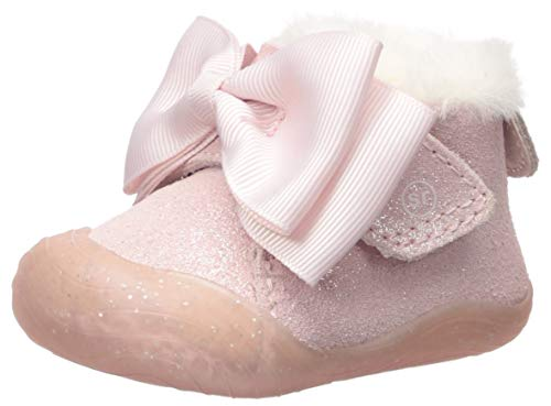 Stride Rite Girl s SR Campbell Ankle Boot, pink, 1 M US Toddler
