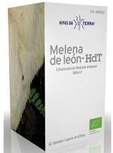 Mico Leo ( Melena de León ) - Hdt 70 cápsulas de 620 mg de Hdt (Hifas Da...