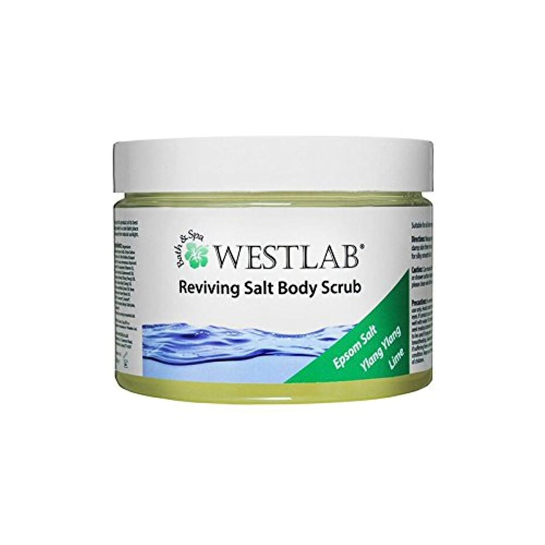 結婚思慮深い物理Westlab Revive Epsom Salt Body Scrub - エプソムソルトボディスクラブを復活させます [並行輸入品]