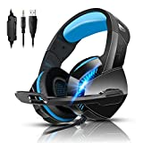 PS4 Gaming Headset with 7.1 Surround Sound, Xbox...