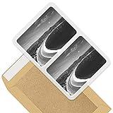 Impresionante pegatinas rectangulares (juego de 2) 10 cm – San Juan del Sur Nicaragua, calcomanías divertidas para portátiles, tabletas, equipaje, libros de chatarra, frigorífico, regalo genial #43475