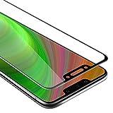 Cadorabo Vollbild Panzerglasfolie für Huawei Mate 20 LITE - Schutzfolie in TRANSPARENT mit SCHWARZ - Gehärtet (Tempered) Bildschirmschutz Glas in 9H Festigkeit mit 3D Touch Kompatibilität