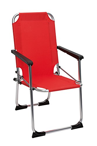 Camp Gear - Chaise enfant - Verrou sécurité - Rouge