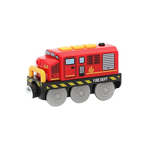 Tren eléctrico para niños, tren de mercancías con conexión magnética Locomotora, tren...
