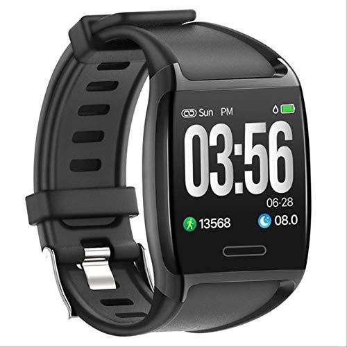 V2 Smart Watch 5atm wasserdichte Aktivität Fitness Laufen Schrittzähler Herzfrequenz Schlaf Tracker Männer Sport Smartwatch Für Ios/Android Schwarz