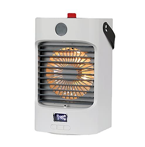 XIHAI Raffrescatore Evaporativo Luci Colorate D'Atmosfera Condizionatore Portatile Ventilatore Portatile Mini Condizionatore Portatile Spray Scuotere La Testa Raffreddamento Ad Acqua USB