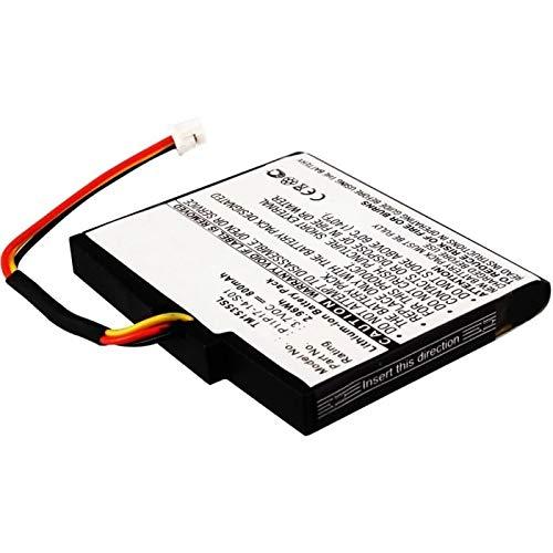 subtel® Qualitäts Akku kompatibel mit Tomtom Via 135 M / 1515 / 1535TM / GO Live 1535 M, P11P17-14-S01 800mAh Ersatzakku Batterie