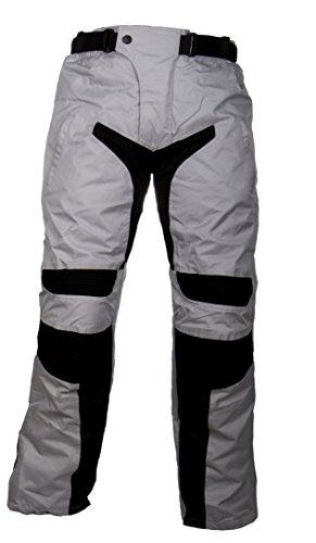 WinNet Pantaloni da per moto con protezioni turing