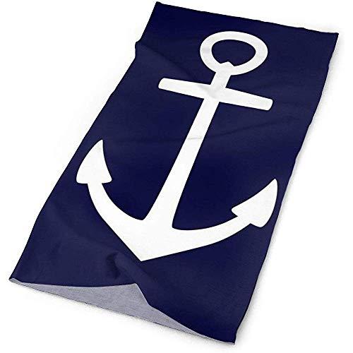 Sweatband, Nautical Navy Blauw Anker Van Zeeman Mode Sjaal Wrap, Headdress Mode Magisch Hoofd Sjaal Bandana Masker Nek Gaiter