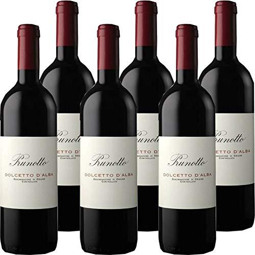 Dolcetto D'Alba Doc | Prunotto | Confezione 6 Bottiglie 75cl | Vino Rosso del Piemonte | Idea Regalo