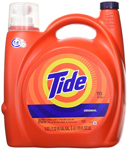 Tide 8317 High Efficiency Laundry Detergent, 170 Fl. Oz. 110 Loads