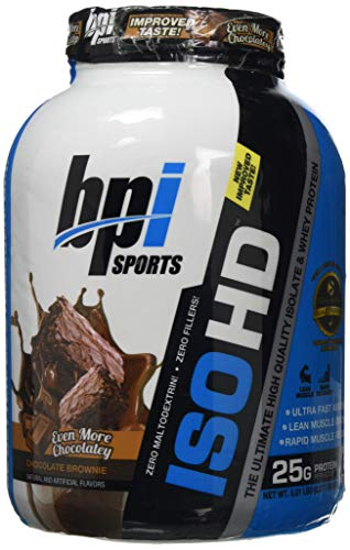 BPI Sports 2.27 kg ISO-HD Chocolate Brownie