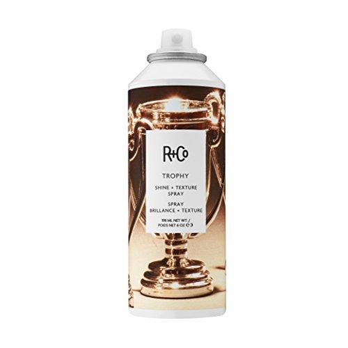 R+co Trophy Shine + Texture spray| spray lucidante capelli 198ml