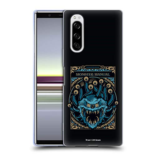 Head Case Designs Offizielle Dungeons & Dragons Monster Handbuch Hydro74 Kunstwerk Soft Gel Huelle kompatibel mit Sony Xperia 5