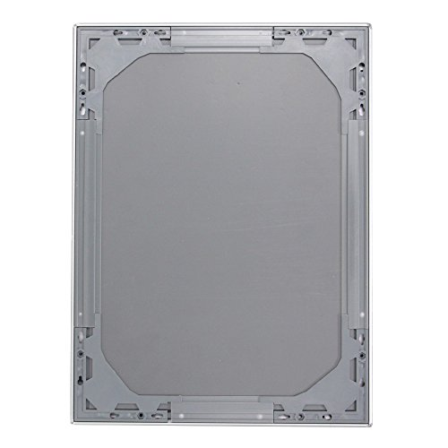 "VIZ-PRO A3 Silver Snap Frames / Clip Frames, Mitred Corner, 0.98"" Aluminum Profile Photo #4"