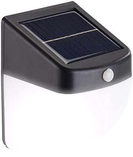 Balise / applique solaire LED 1 W avec détecteur de mouvement [Lunartec]