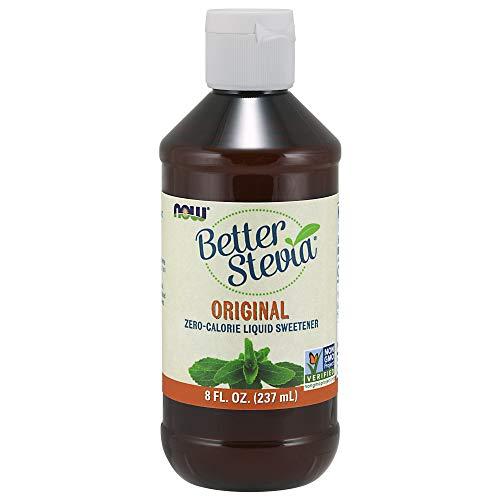 NOW Foods, Better Stevia Liquid, Zero-Calorie Liquid Sweetener, Orignal Flavor, Low Glycemic Impact, 8-Ounce