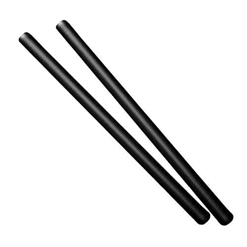 Confezione doppia: 2 bastoni corti imbottiti per Arnis, Escrima, o auto-difesa Lunghezza del singolo bastone: 68 cm Diametro del singolo bastone: 35 mm Stabile tubo di plastica interno Rivestimento esterno in schiuma ammortizzante