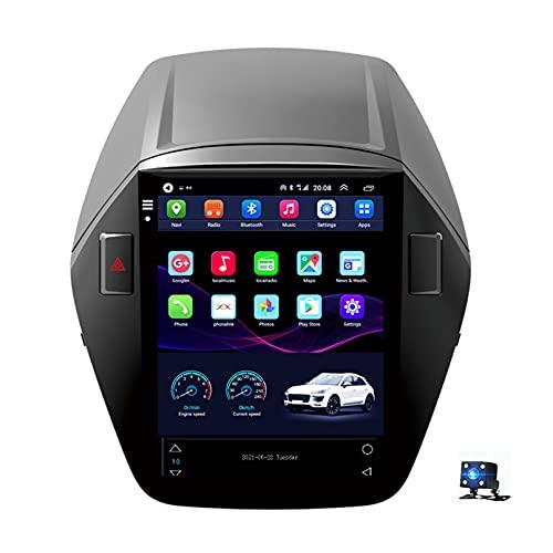 Navegación GPS De 9 'Android 10 Radio De Coche Reproductor De Video Multimedia Con Pantalla Táctil Para Hyundai Tucson 2 Ix35 2009-2015 Soporte Bluetooth USB WIF(Size:WiFi 1G+16G,Color:Ocho núcleos)