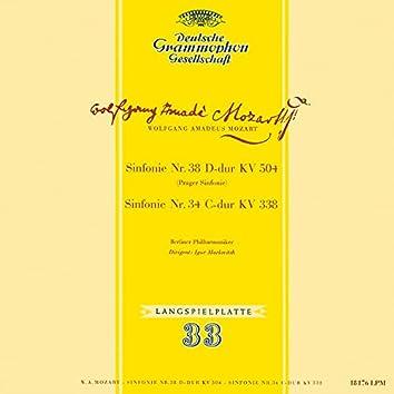 Mozart: Symphony No. 34, K. 338; Symphony No. 38, K. 504 'Prague'; Symphony No. 35, K. 385 'Haffner'; Gluck: Sinfonia in G Major (Igor Markevitch – The Deutsche Grammophon Legacy: Volume 2)