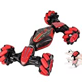 JHANVI Powerful Racing Trick Obstacle Climbing Truck Remote Control Gesture Sensor Toy, Double Sided...