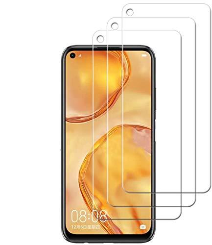 [3 Stück] Panzerglas Folie für Xiaomi Mi 10T Pro 5G Schutzfolie, Bildschirmschutzfolie Mit Frei von Fingabdrücken & Öl, 9H Festigkeit, 0,26mm Ultra-klar, Anti-Bläschen, Anti-Kratzen [2.5D R&e Kante]