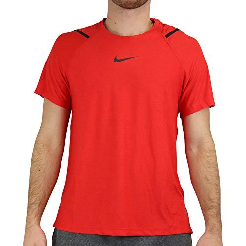 NIKE Camiseta para Hombre NP SS NPC, Hombre, Camiseta, CU4989, Rojo, Gris y Negro, Extra-Large