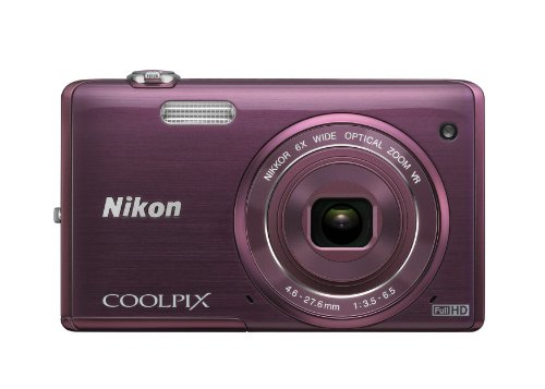 Best Prices! Nikon COOLPIX S5200 Wi-Fi CMOS Digital Camera with 6x Zoom Lens (Plum) (OLD MODEL)