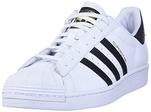 adidas Superstar, Zapatillas de deporte Unisex Adulto, Blanco (Ftwr White/Core Black/Ftwr White), 44 EU