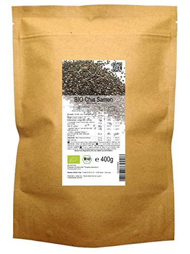Graines de Chia BIO (Salvia Hispanica) 400 g