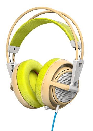 Steelseries Siberia 200 Binaural Kopfband Grün - Headsets (PC/Gaming, Binaural, Kopfband, Grün, Verkabelt, 1,8 m)