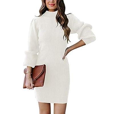 Amazon - Save 55%: ANRABESS Women Turtleneck Long Sleeve Knit Stretchable Elasticity Slim…