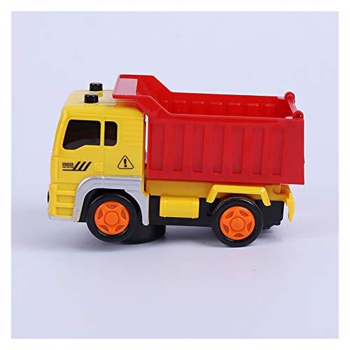 GF Camiones de Basura, Vehículos de construcción, Mezcladores de Cemento, Grúas, Mini Construction Vehicle Engineering Car Dump-Car Dump Modelo de camión GJF (Color : Blue)