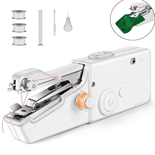 Handheld Sewing Machine, Mini Cordless Handheld Electric Sewing...