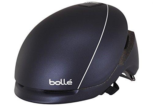 Bollé Messenger Casco de Ciclismo estándar, Unisex, Color Negro/Rosa, tamaño 58-62 cm