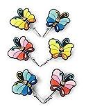 Desconocido Percheros Animados Niños de Dibujos (Mariposa)