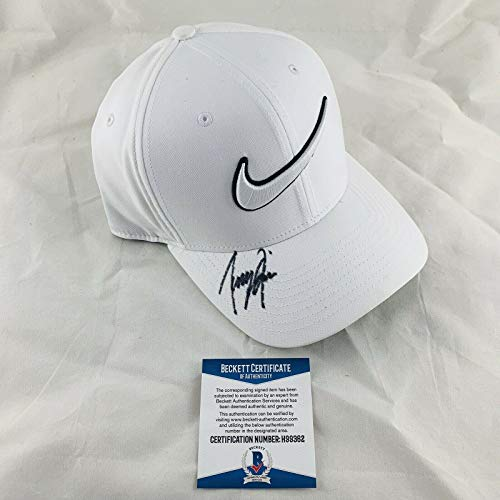 Buy Tony Finau Signed Nike Golf Hat Authentic Bas Coa #h99362 - Beckett Authentication - Autographed...